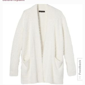 Open 2 offers!NWT banana republic eyelash cardigan